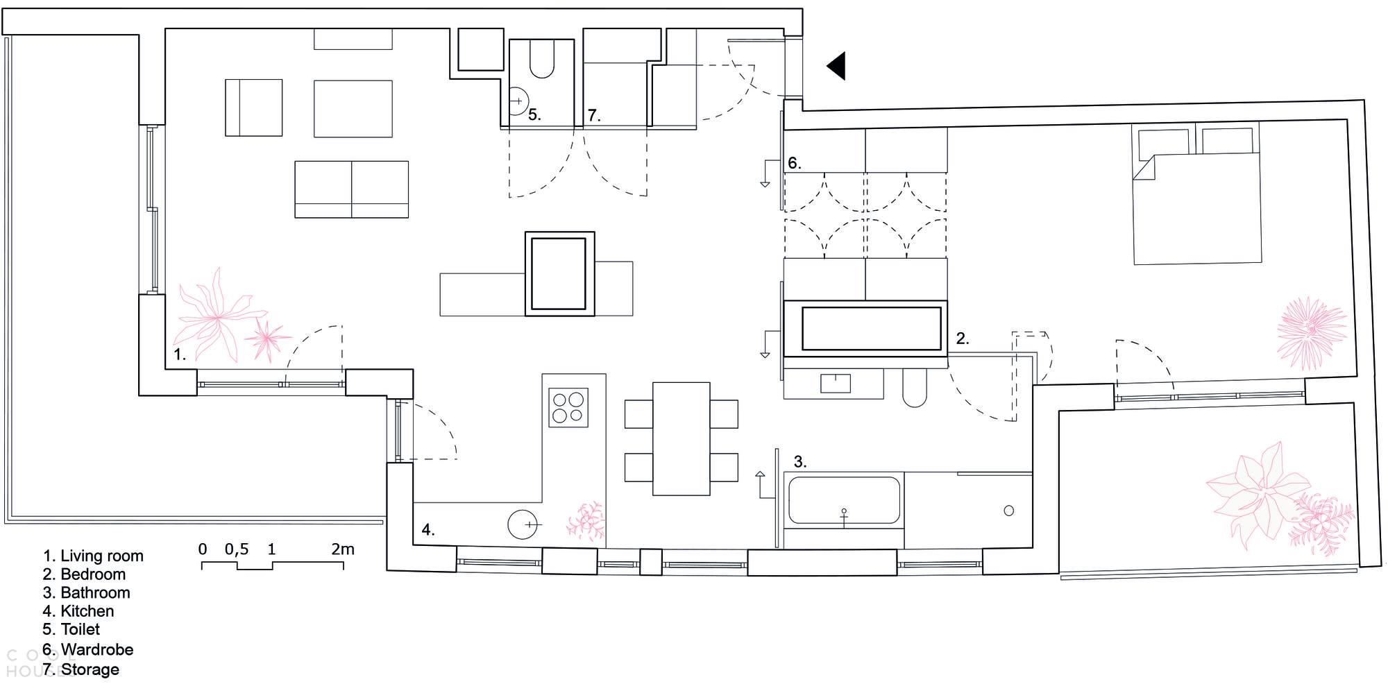 Современная квартира в европейском стиле, Польша