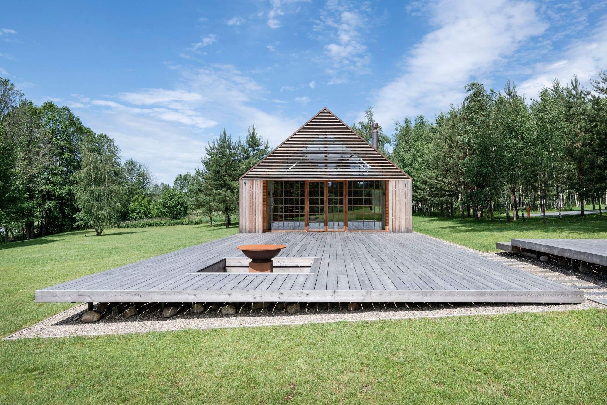 Усадьба в стиле барнхаус, Литва