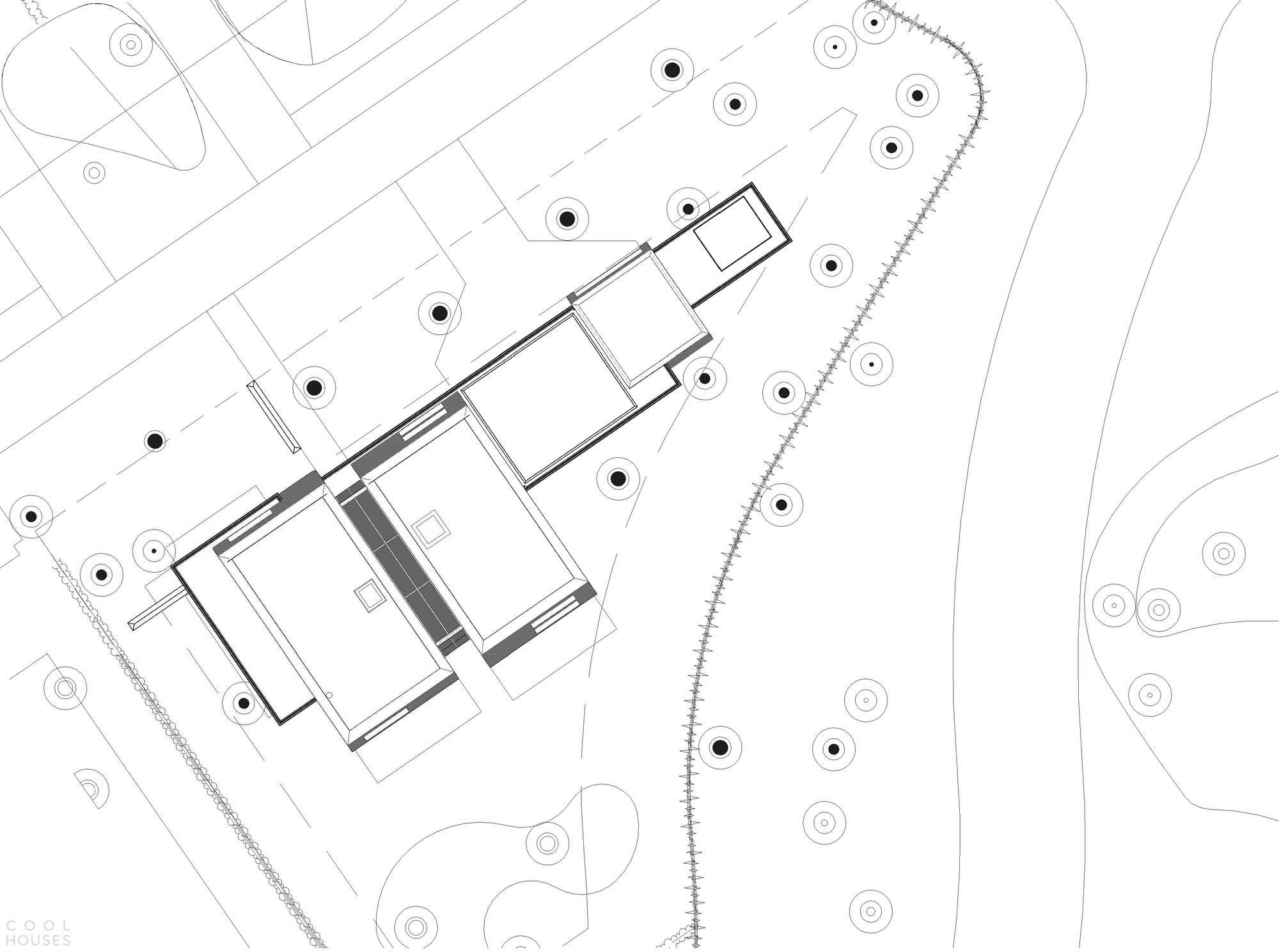 Загородная резиденция с выразительным современным дизайном, Нидерланды