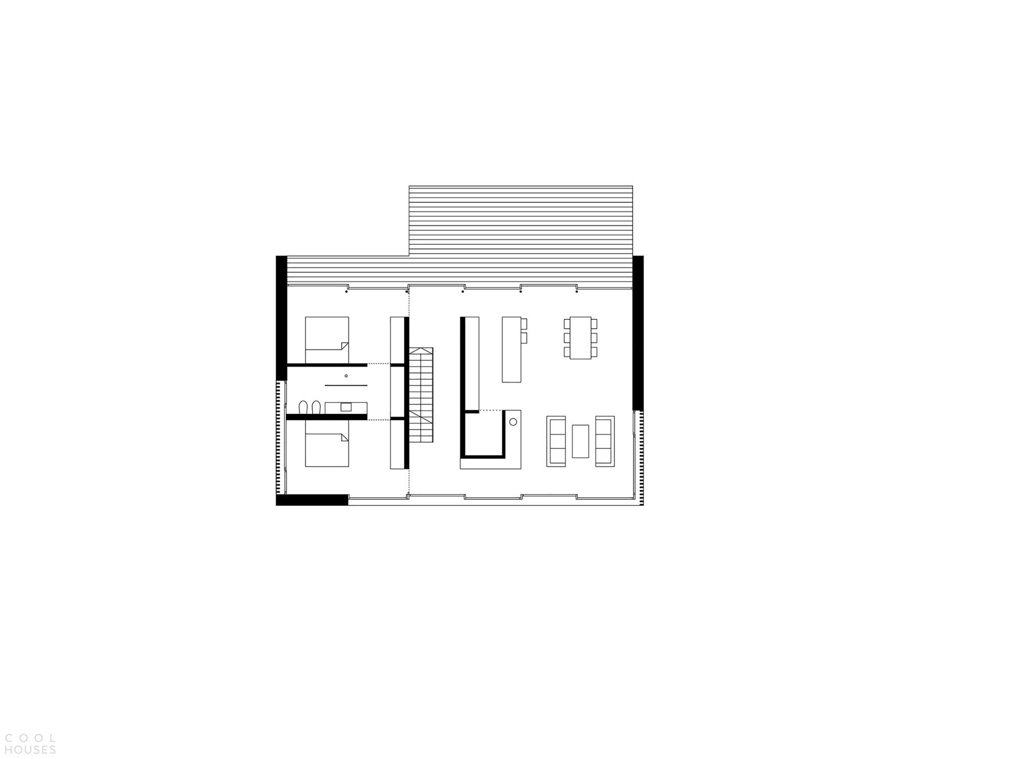 Экологичный дом с гибкой внутренней программой