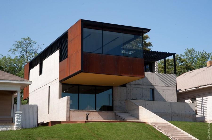 Интересный дом в Оклахома-Сити