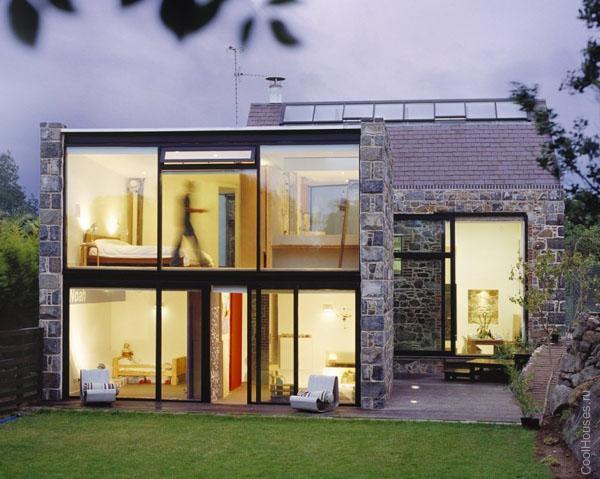 Стеклянный дом в Великобритании