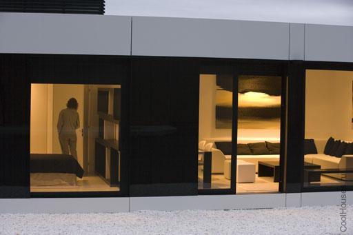 Яркий дом в стиле модерн
