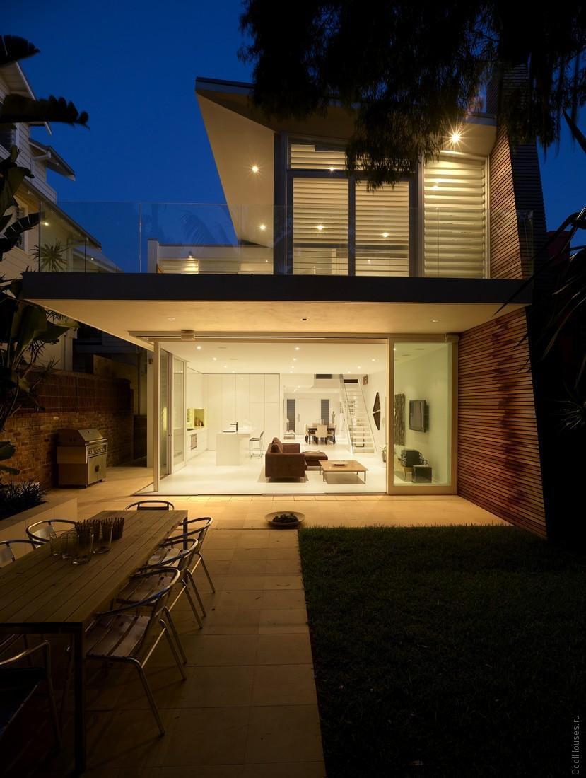 Модерн дом на пляже