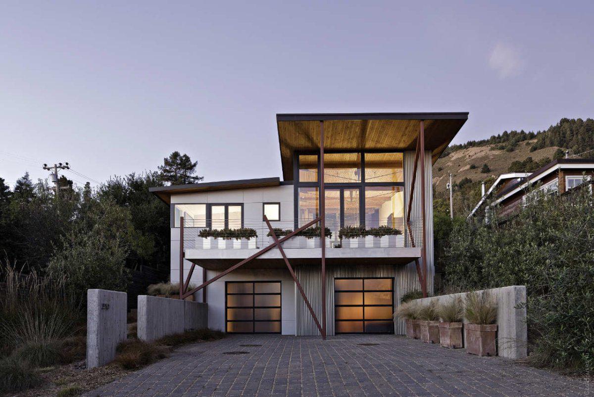Стильный пляжный дом в Сан-Франциско