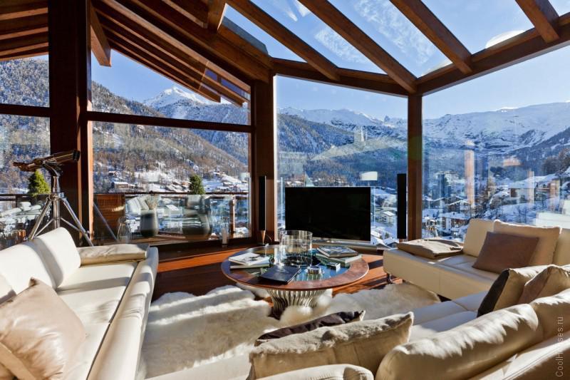 Шикарный отель в Альпах