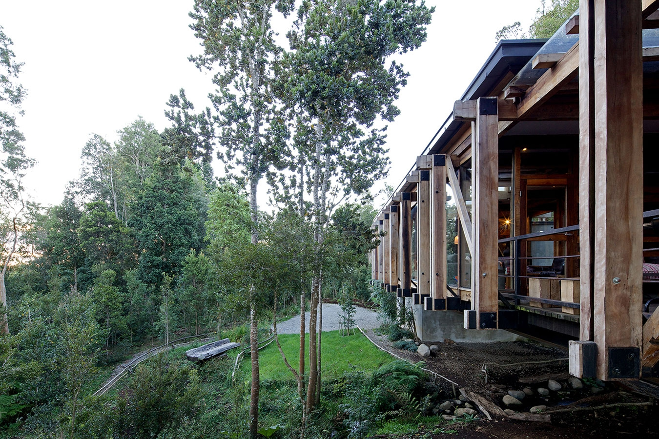 Частный особняк, построенный в 2010, Чили
