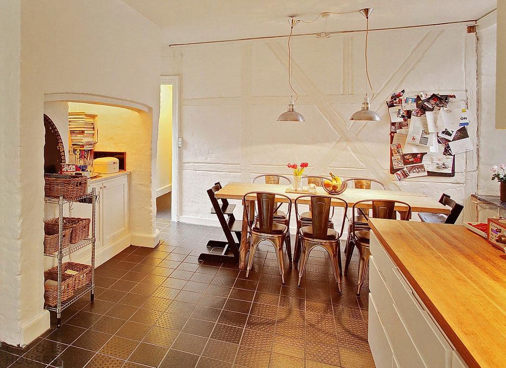 Красивый уютный дом в скандинавском стиле