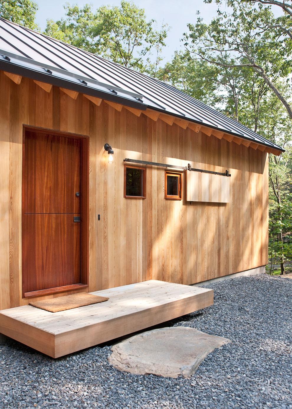 Очаровательный деревянный дом в Нью-Йорке