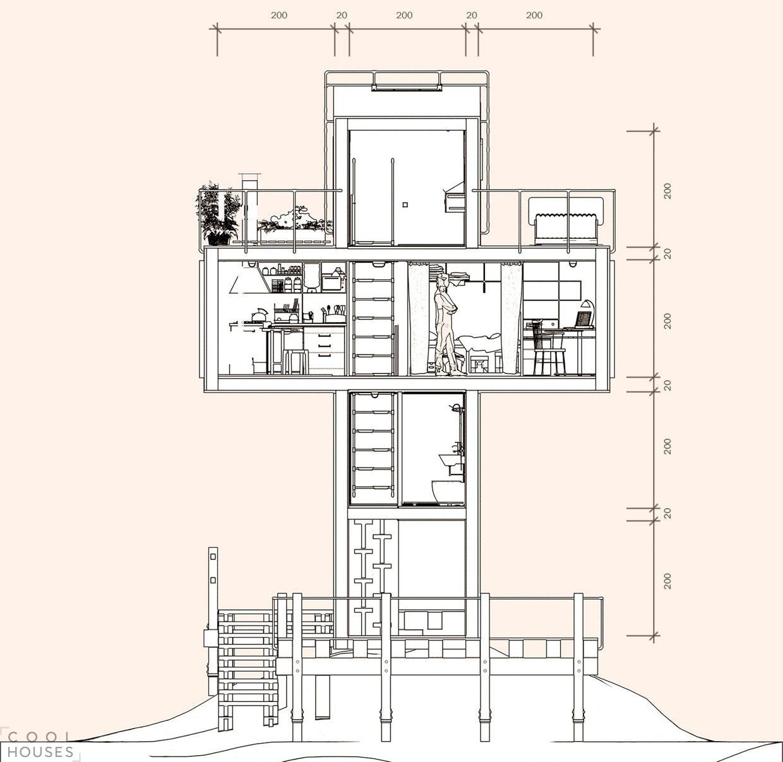 Оригинальный проект дома - Скит