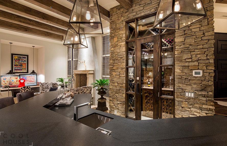 Потрясающий особняк в США по проекту Tor Barstad