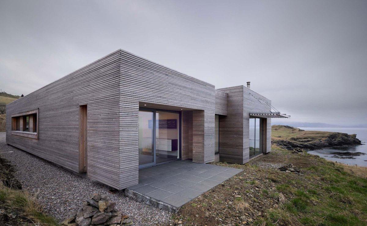Шикарный вид из дома в Шотландии