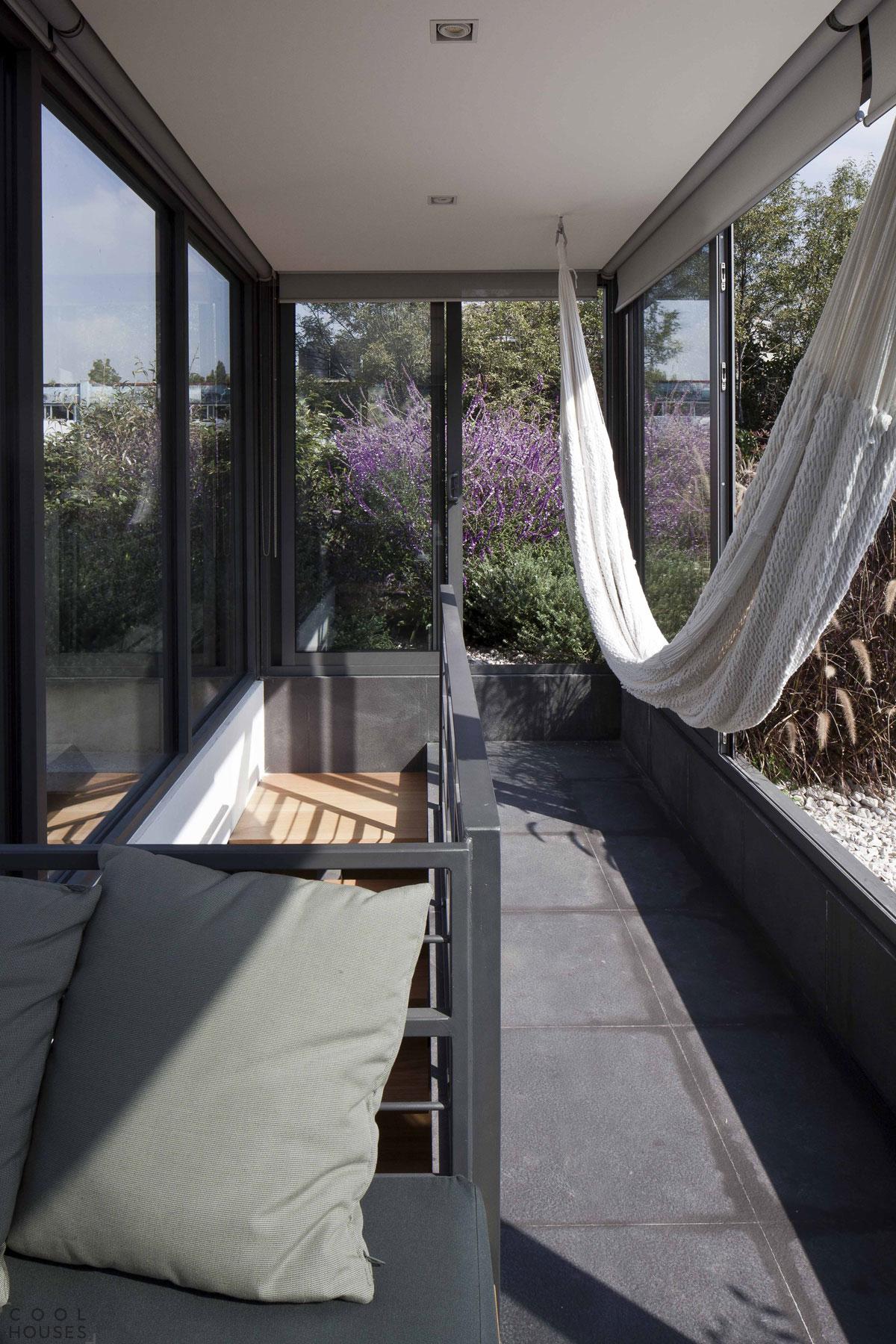 Дом с уютными внутренними дворами в Мексике