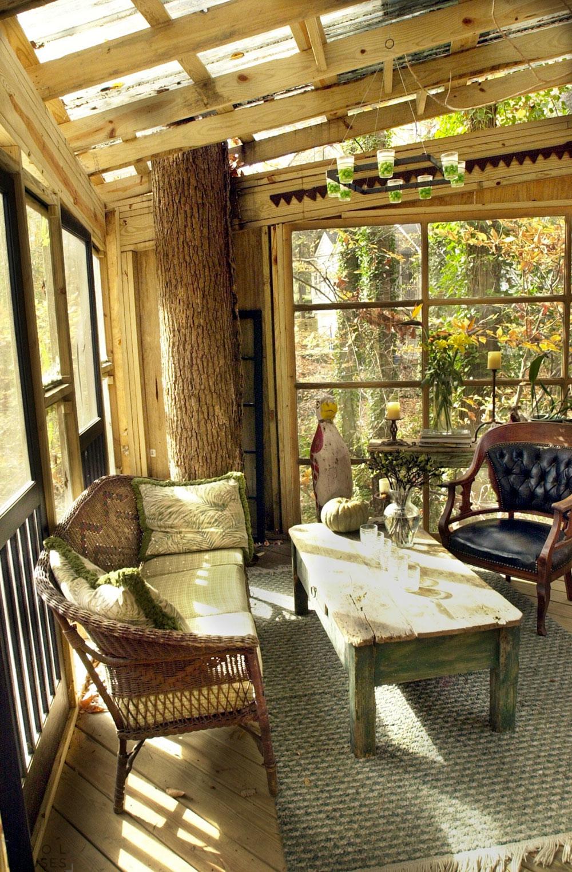 Уникальный дом-отель на дереве