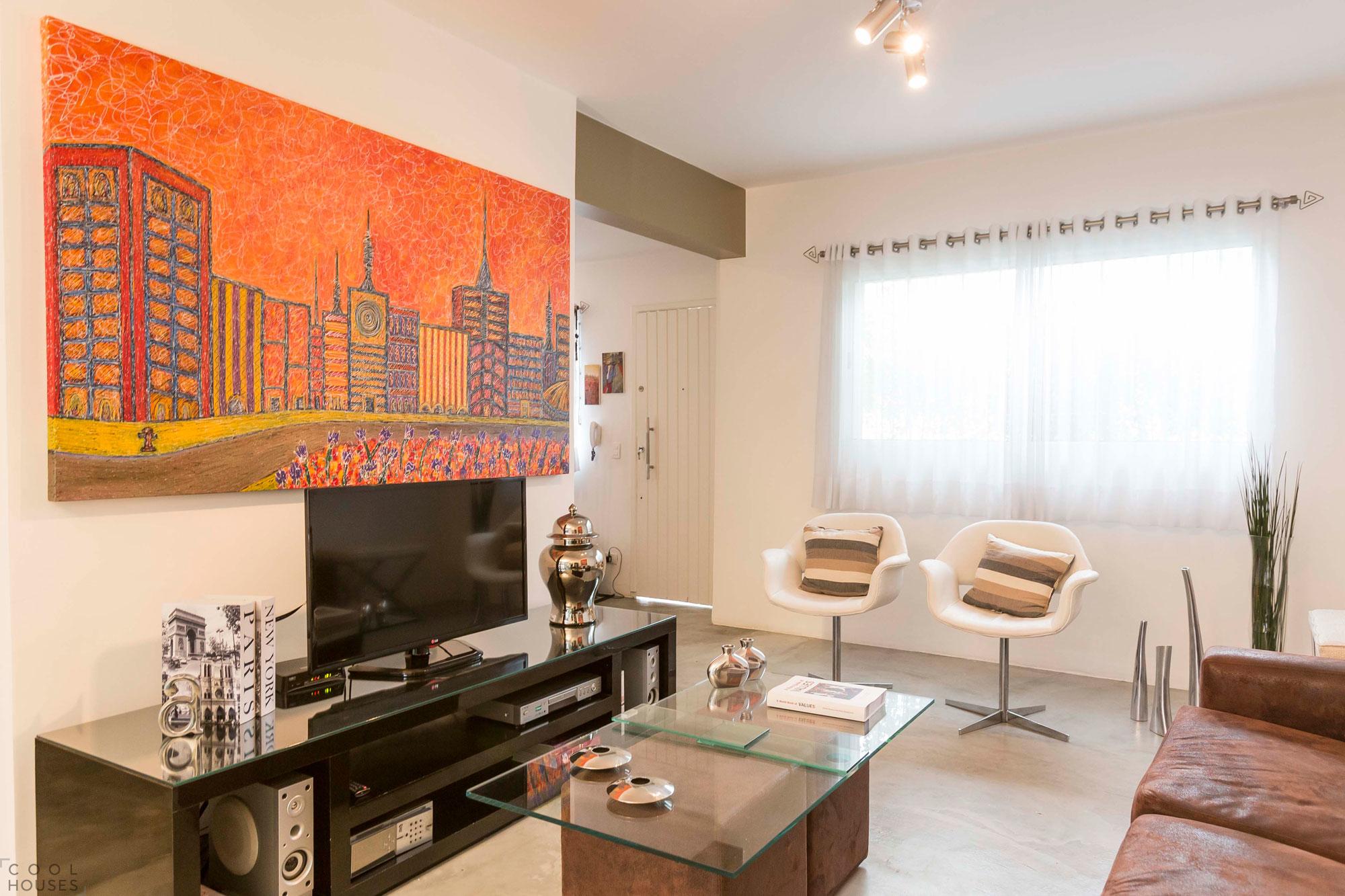 Яркие апартаменты художника в Сан-Паулу