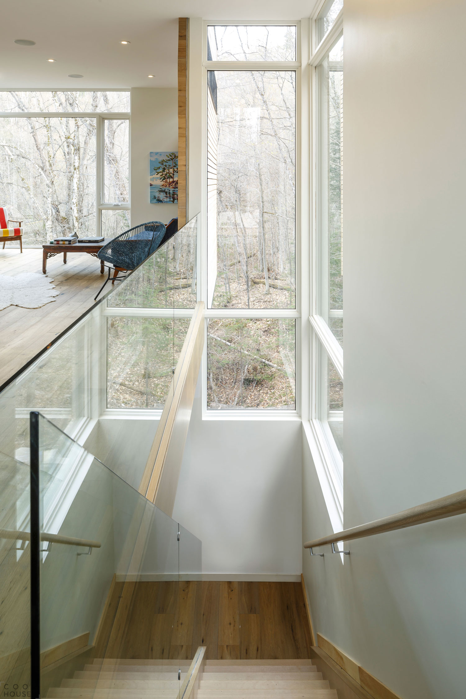 Загородный семейный дом в стиле минимализма
