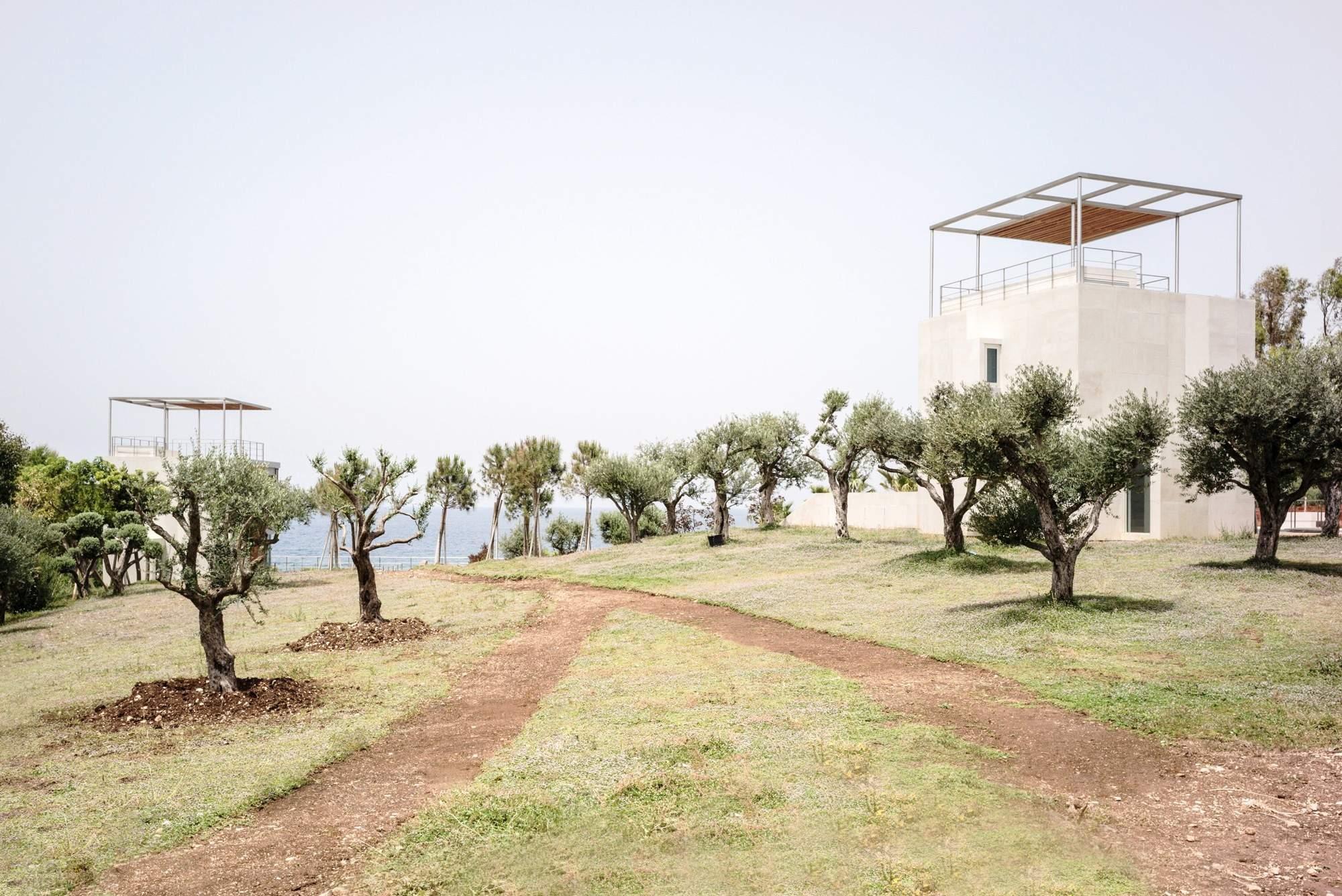 Частный комплекс семейных домов в Ливане