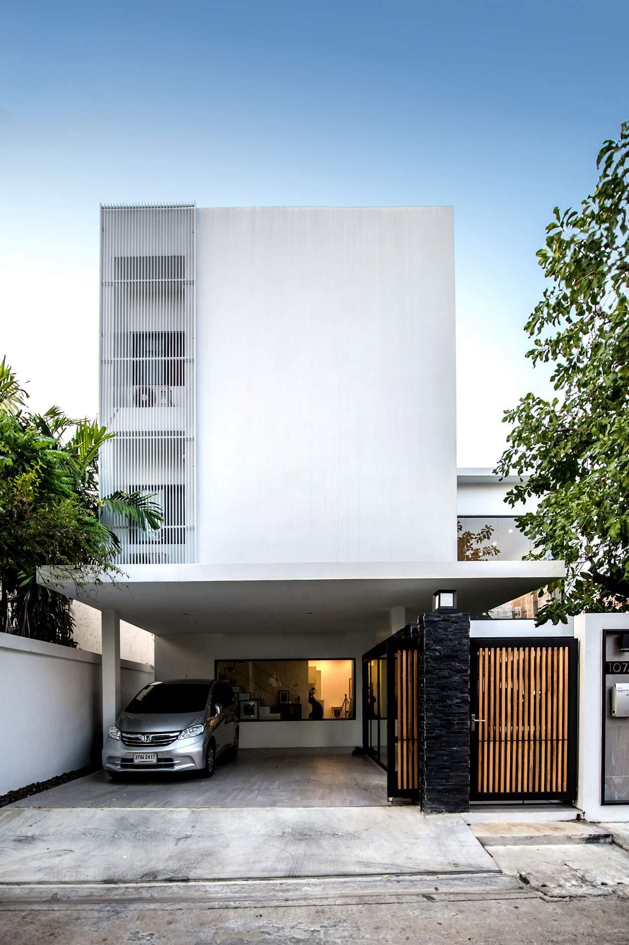 Дом в минималистическом стиле в Тайланде