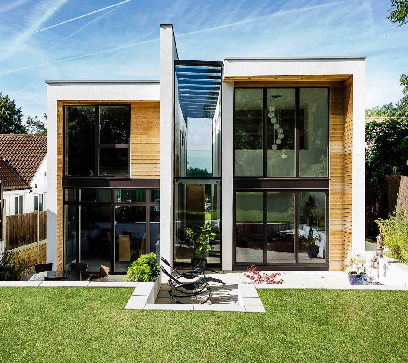 Хай-тек дом в Англии