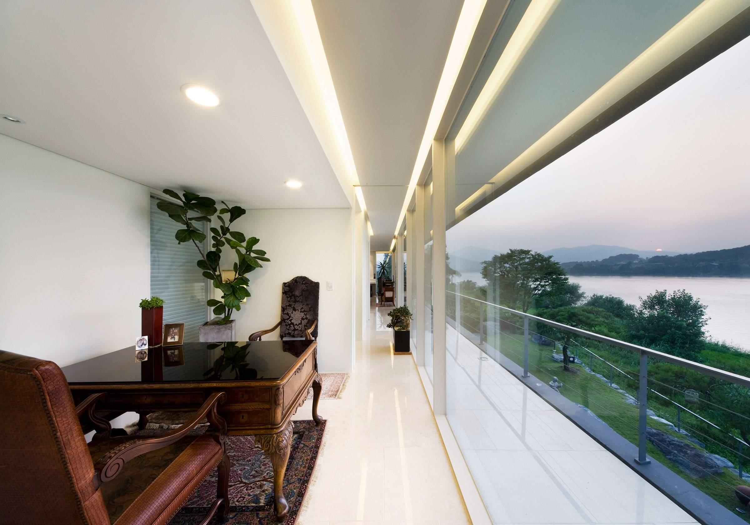 «Плавающий дом» в Южной Корее