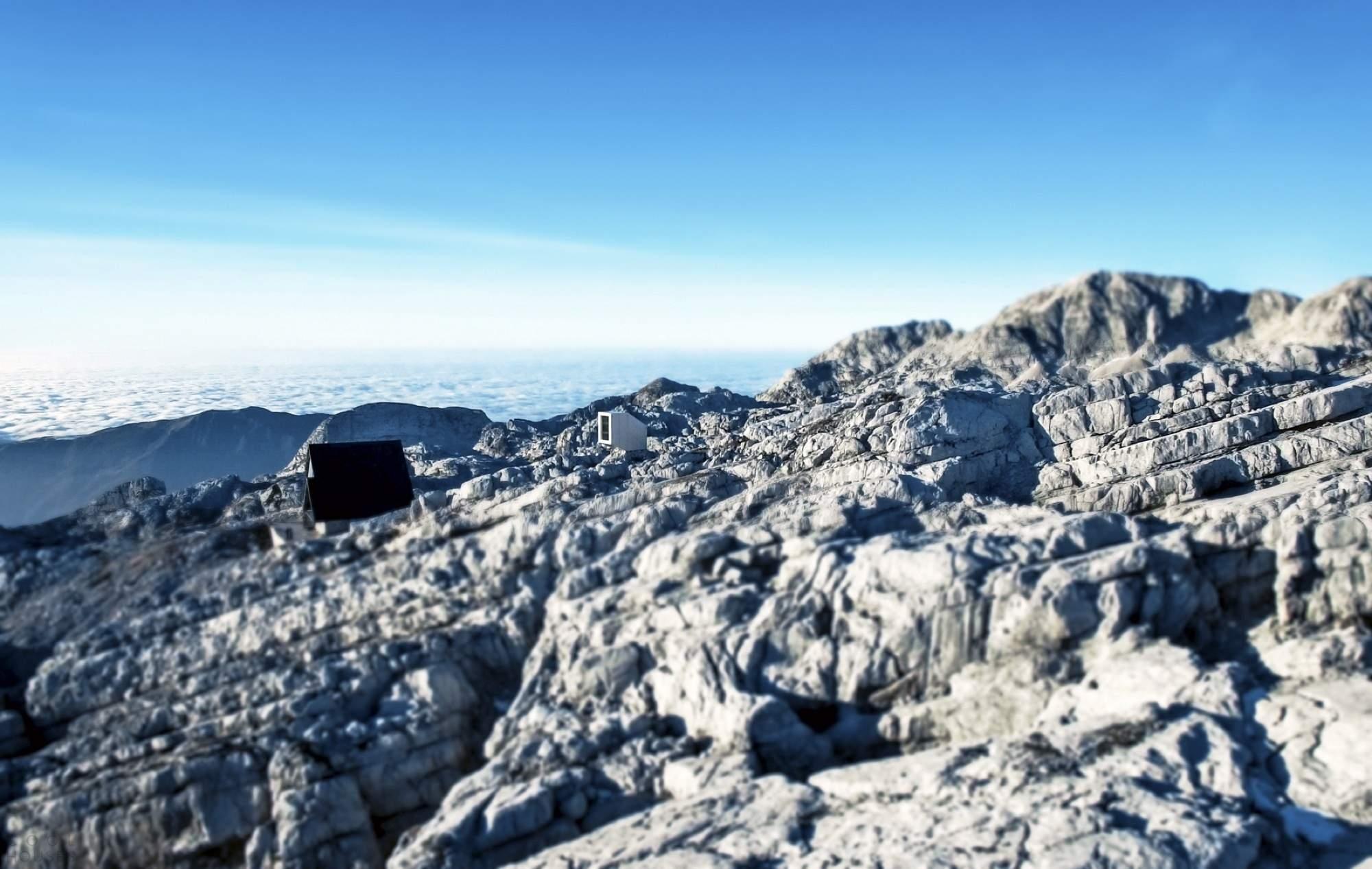 Приют для альпинистов на горе Канин в Словении