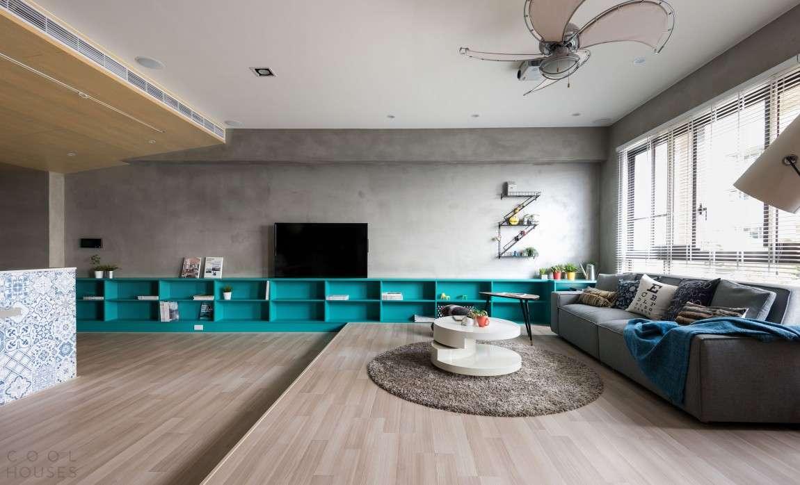 Современная квартира в японском стиле в Тайване