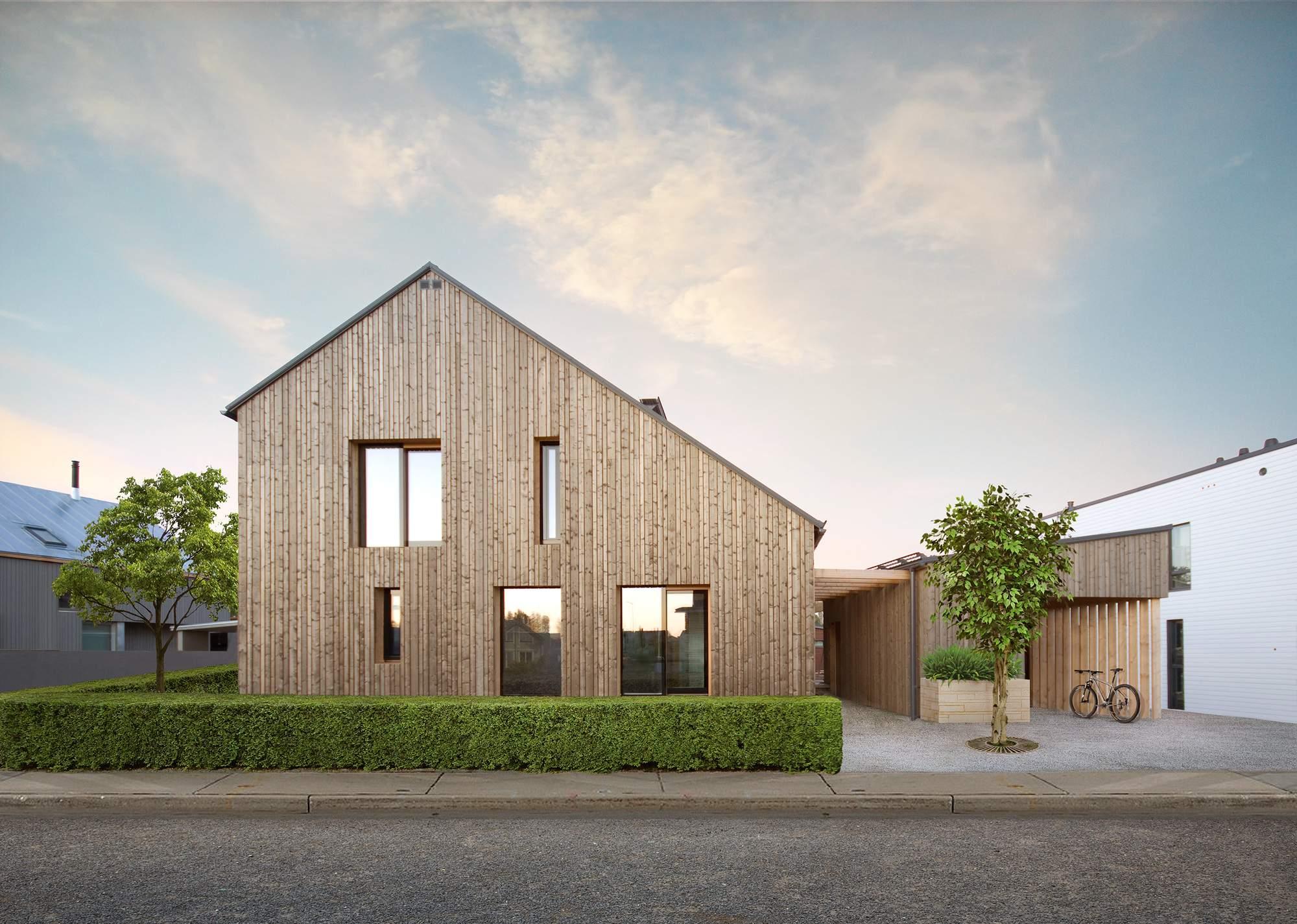 Современный эко-дом в Финляндии