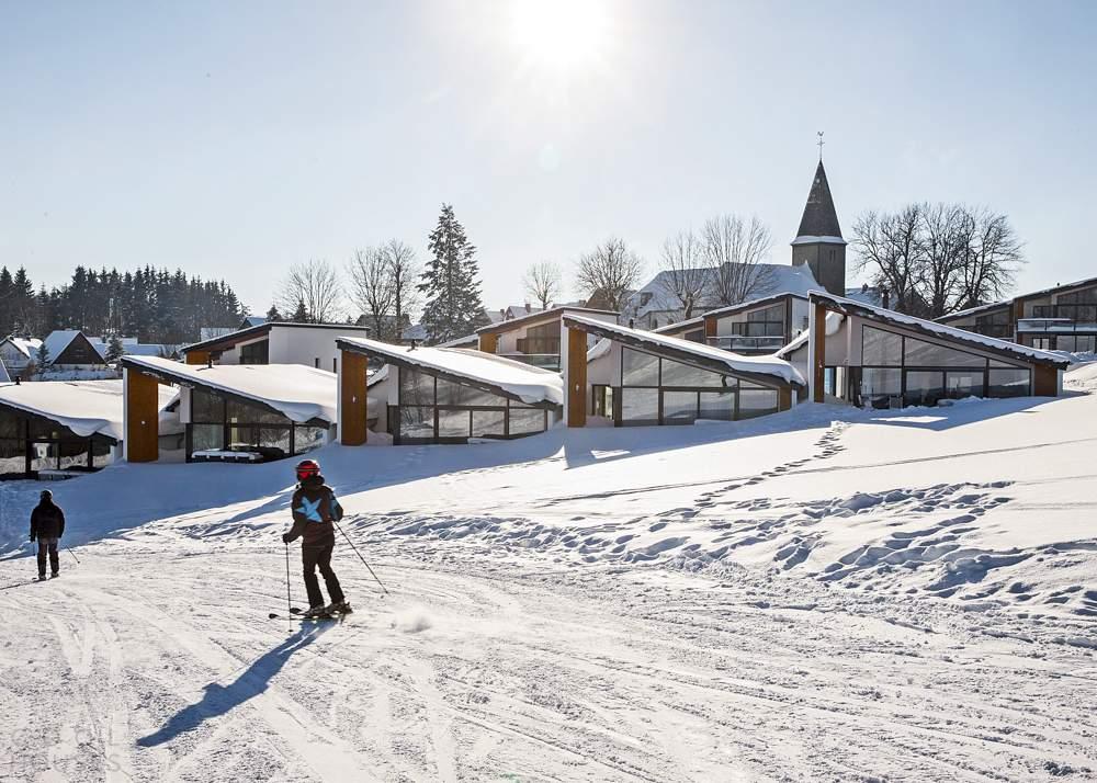 Комплекс Villas Winterberg на горнолыжном курорте в Германии