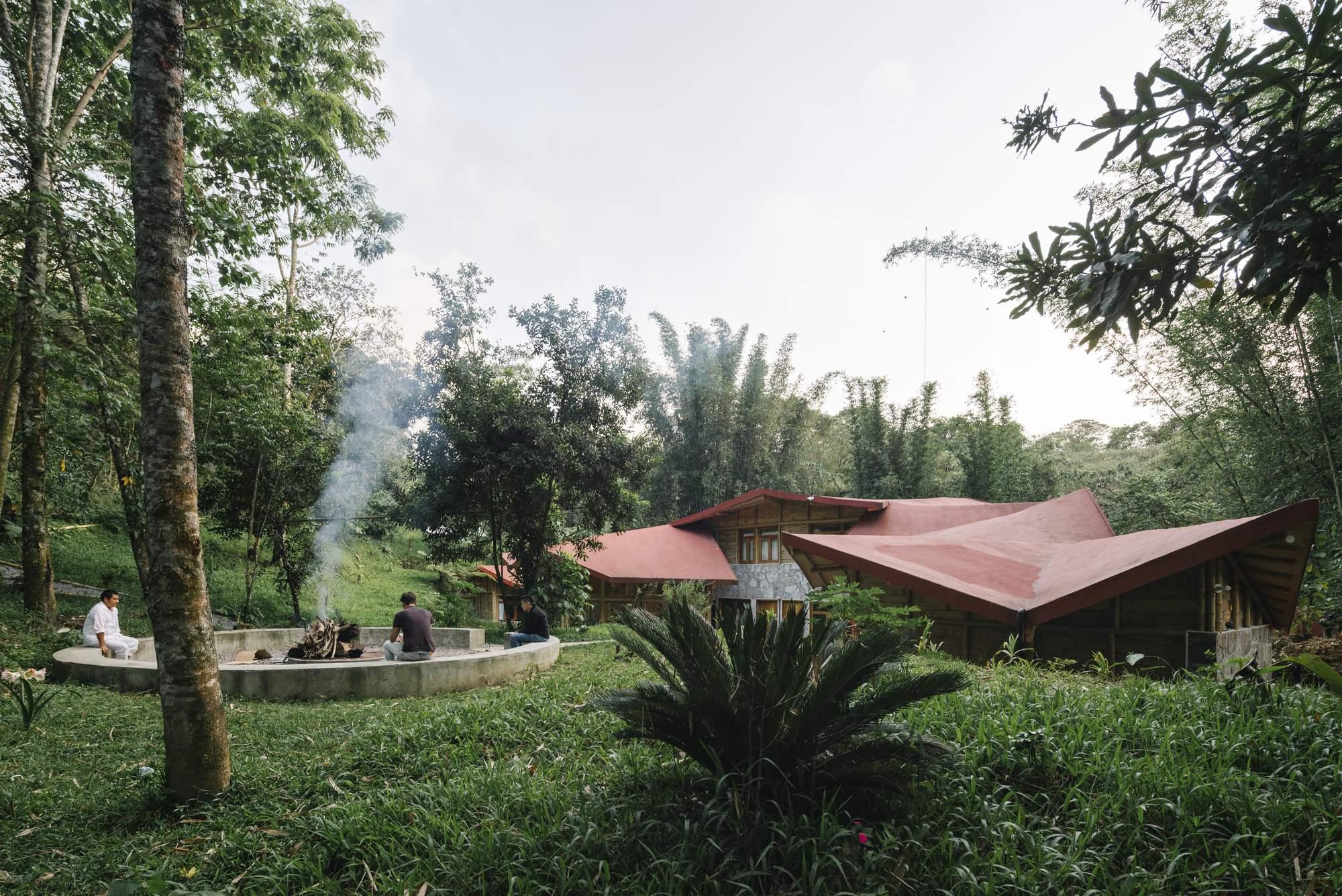 Туристический эко-хостел в Мексике