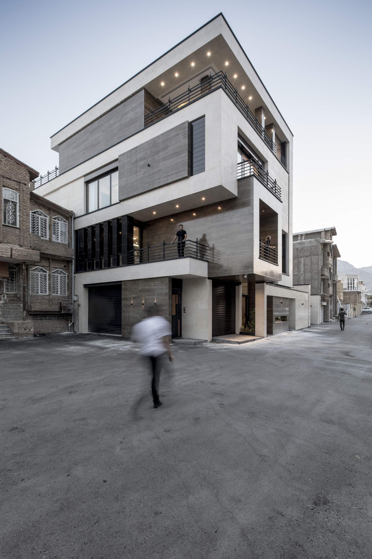 Дом в горном ущелье, Иран