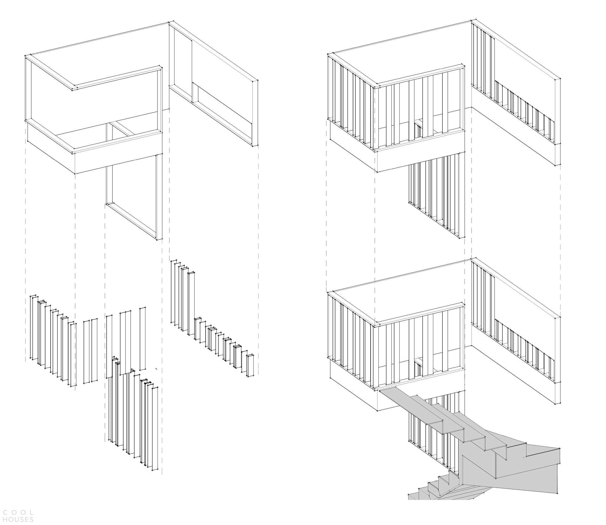 Квартира с монохромным интерьером в центре Киева, Украина