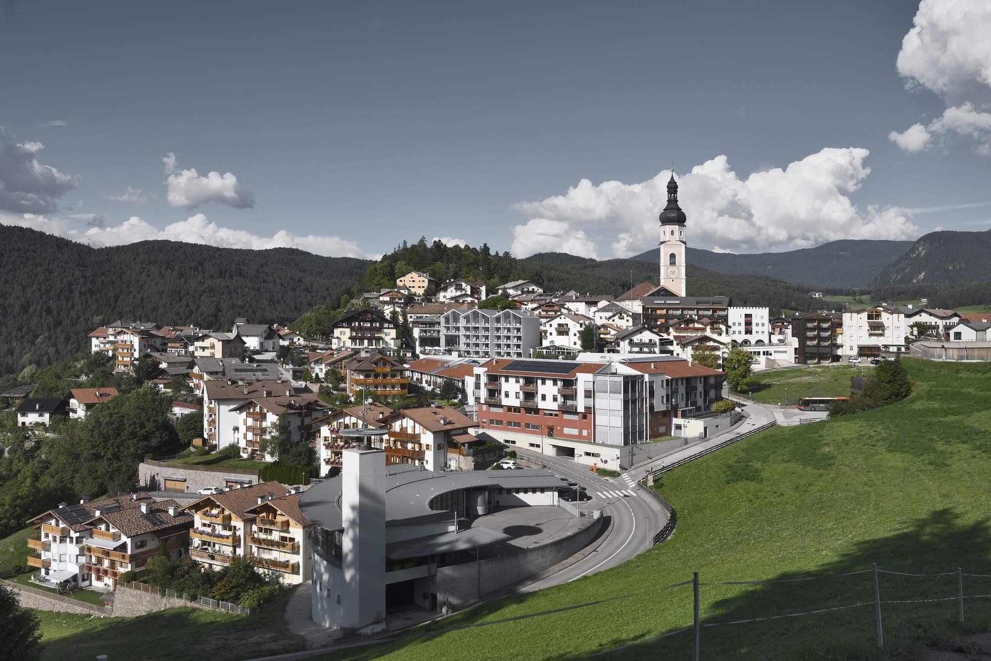 Отель Schgaguler в центре Доломитовых Альп, Италия