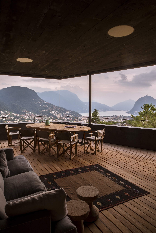 Вилла в живописном уголке Швейцарии