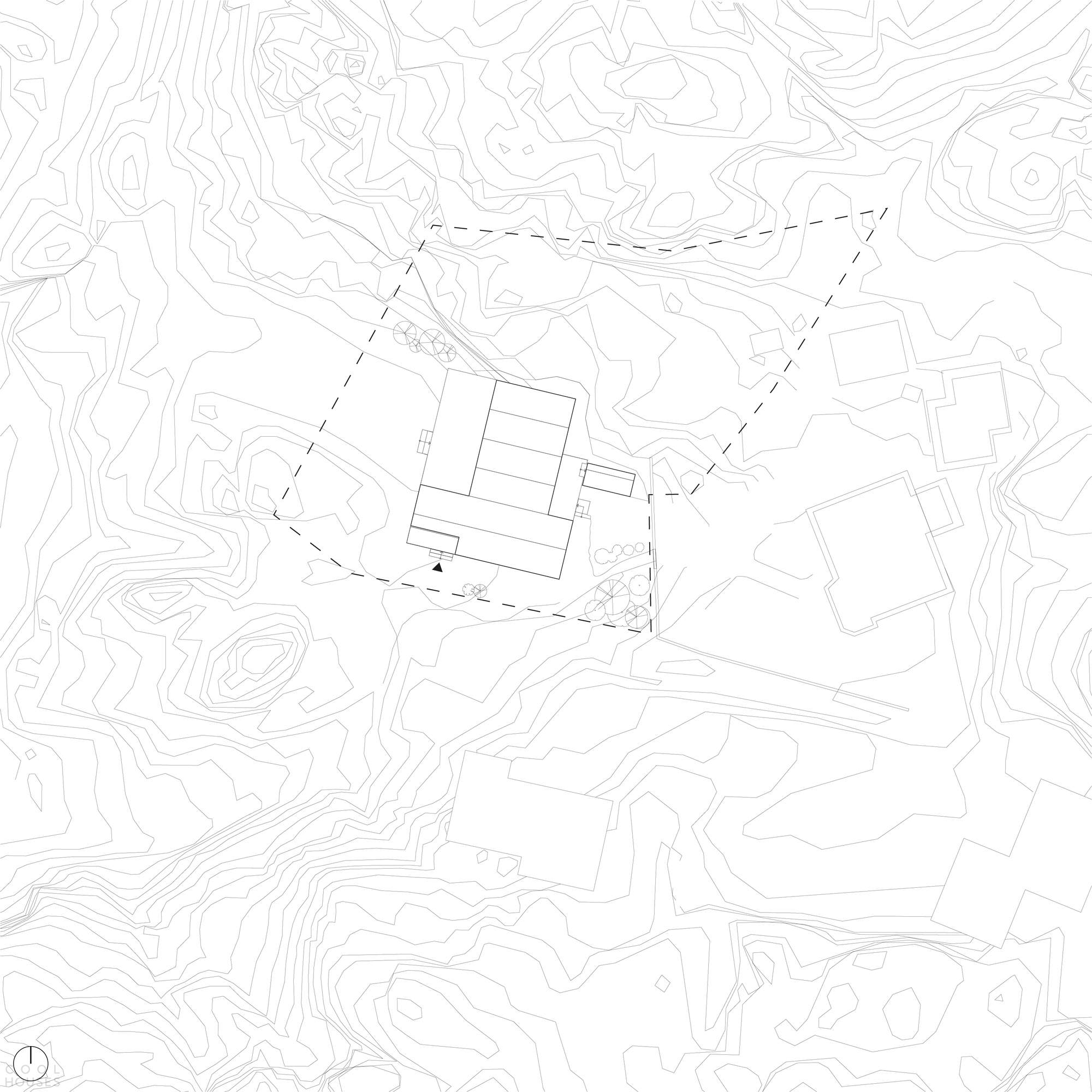 Деревянная вилла на острове