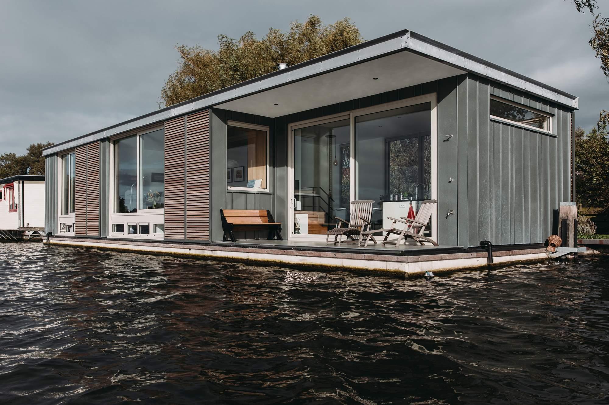 Энергетически позитивная плавающая вилла, Нидерланды