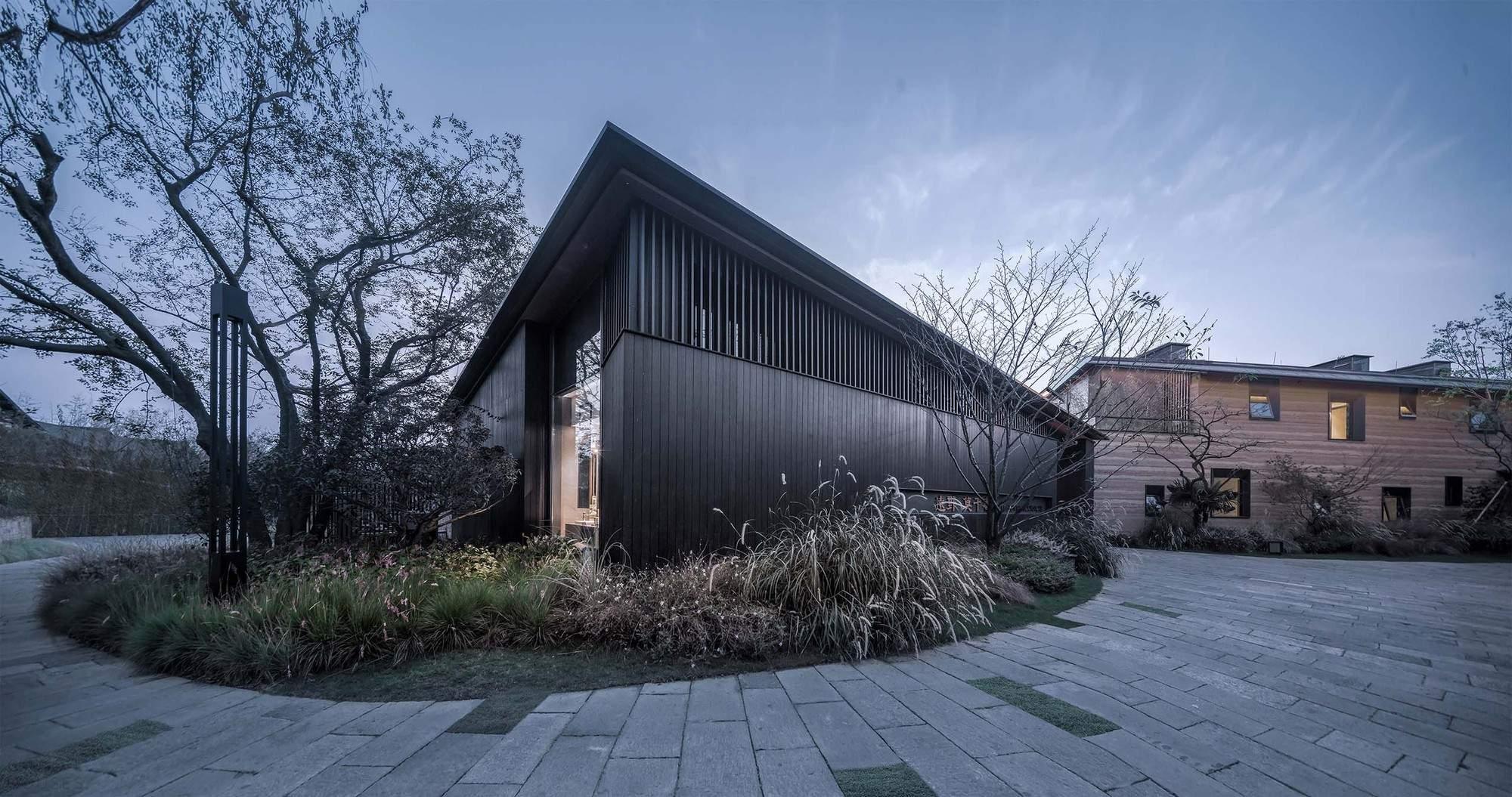 Книжный магазин Mogan Academy в Китае