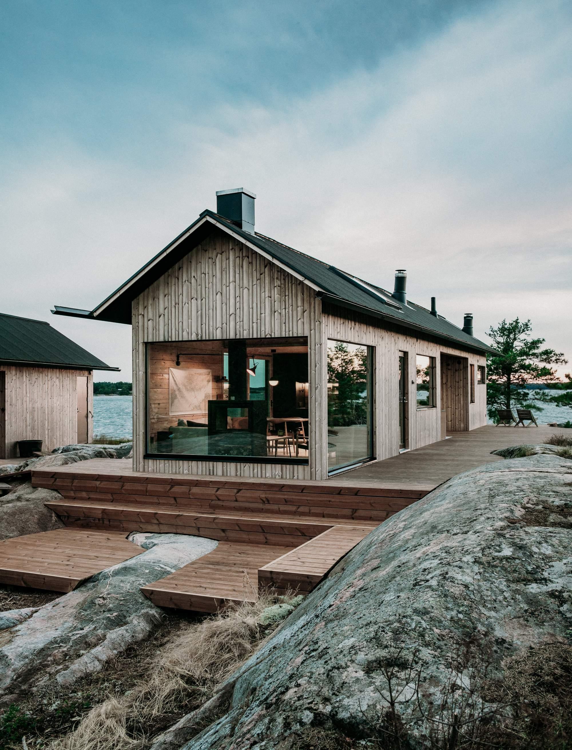 Летний коттедж на архипелаге в Финляндии