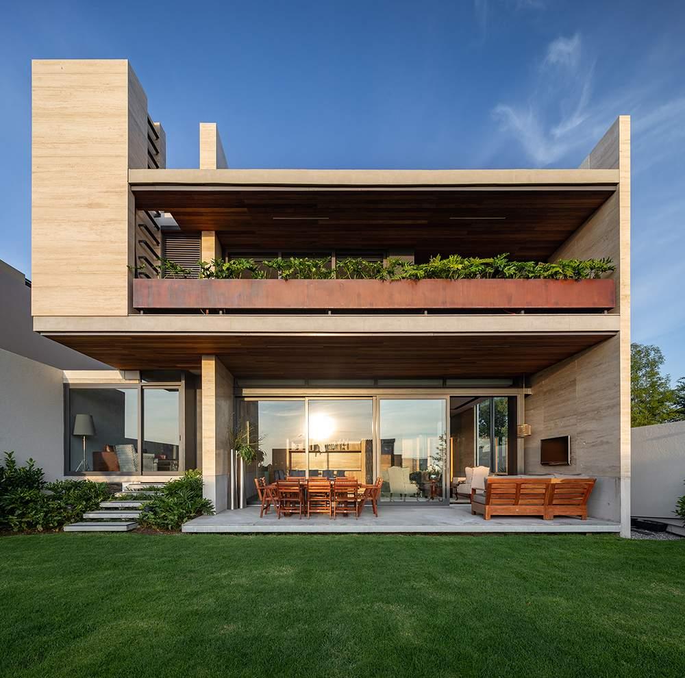 Роскошный дизайнерский дом в Мексике