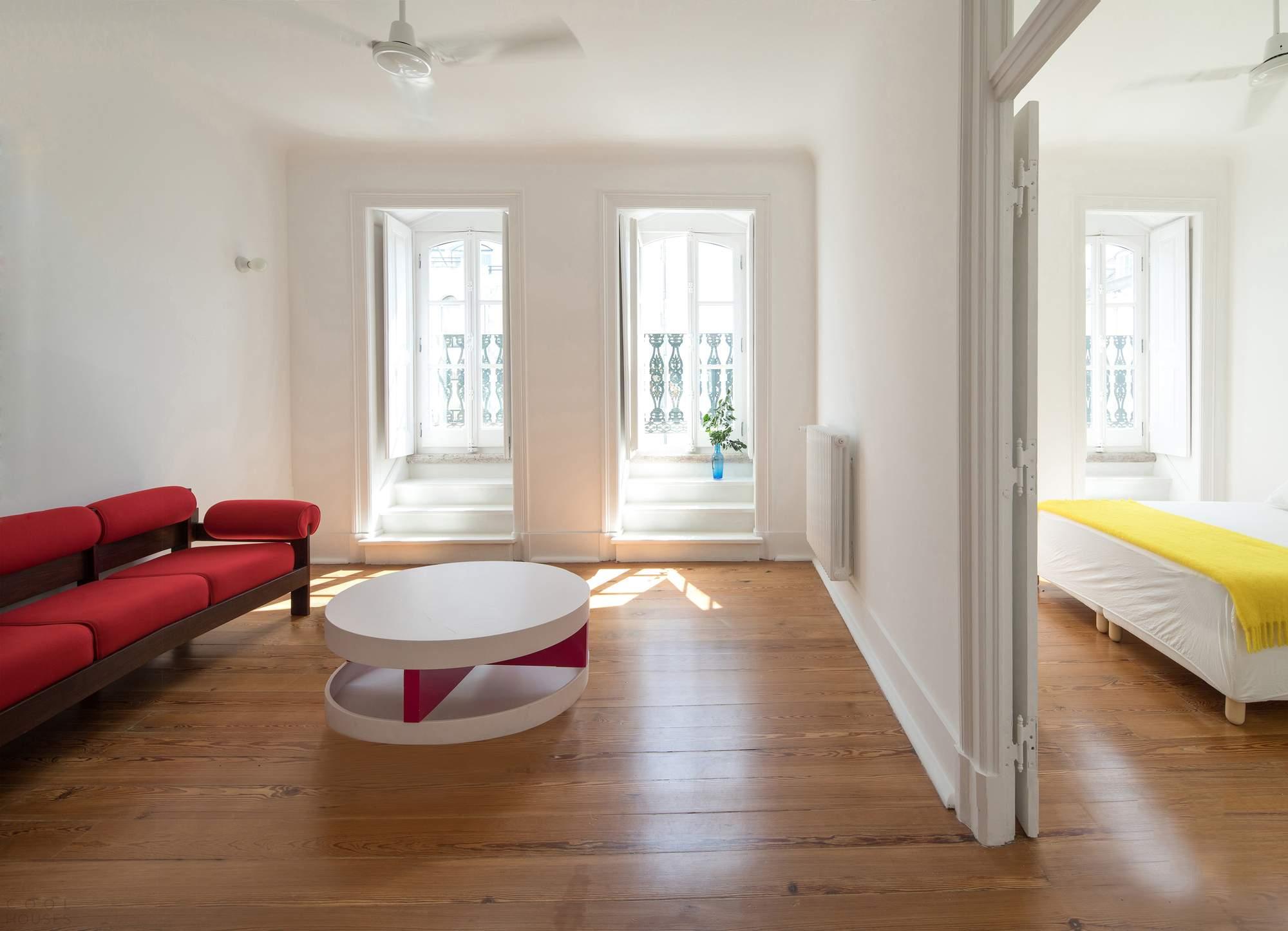 Апартаменты, сохранившие свой исторический характер, Португалия