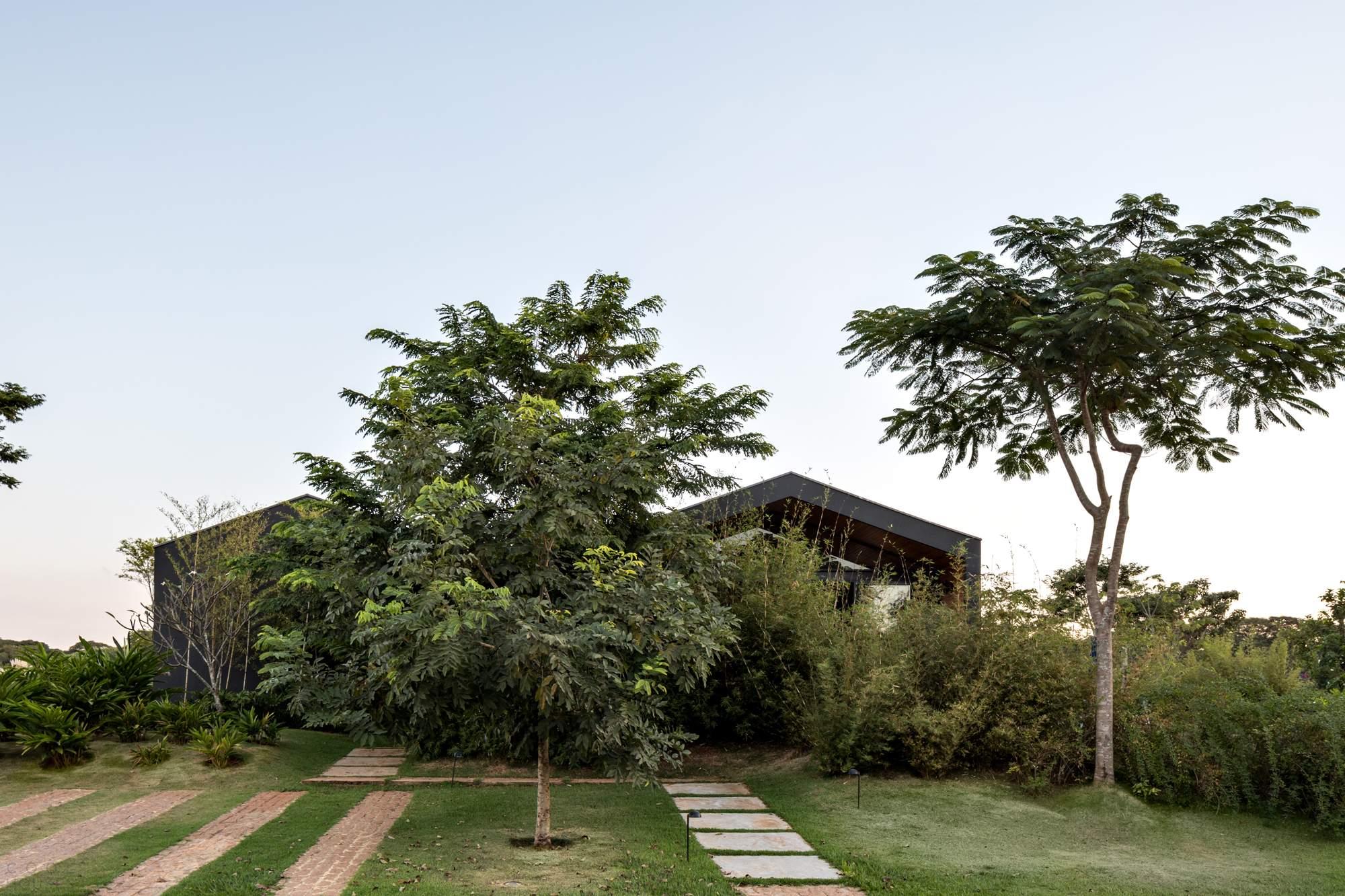 Дом для отдыха на конном ранчо, Бразилия