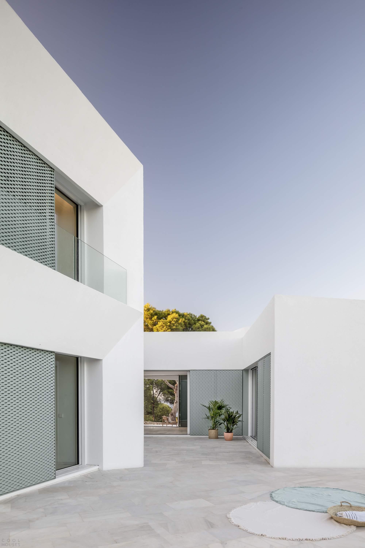 Дом-патио с видом на Средиземное море, Испания
