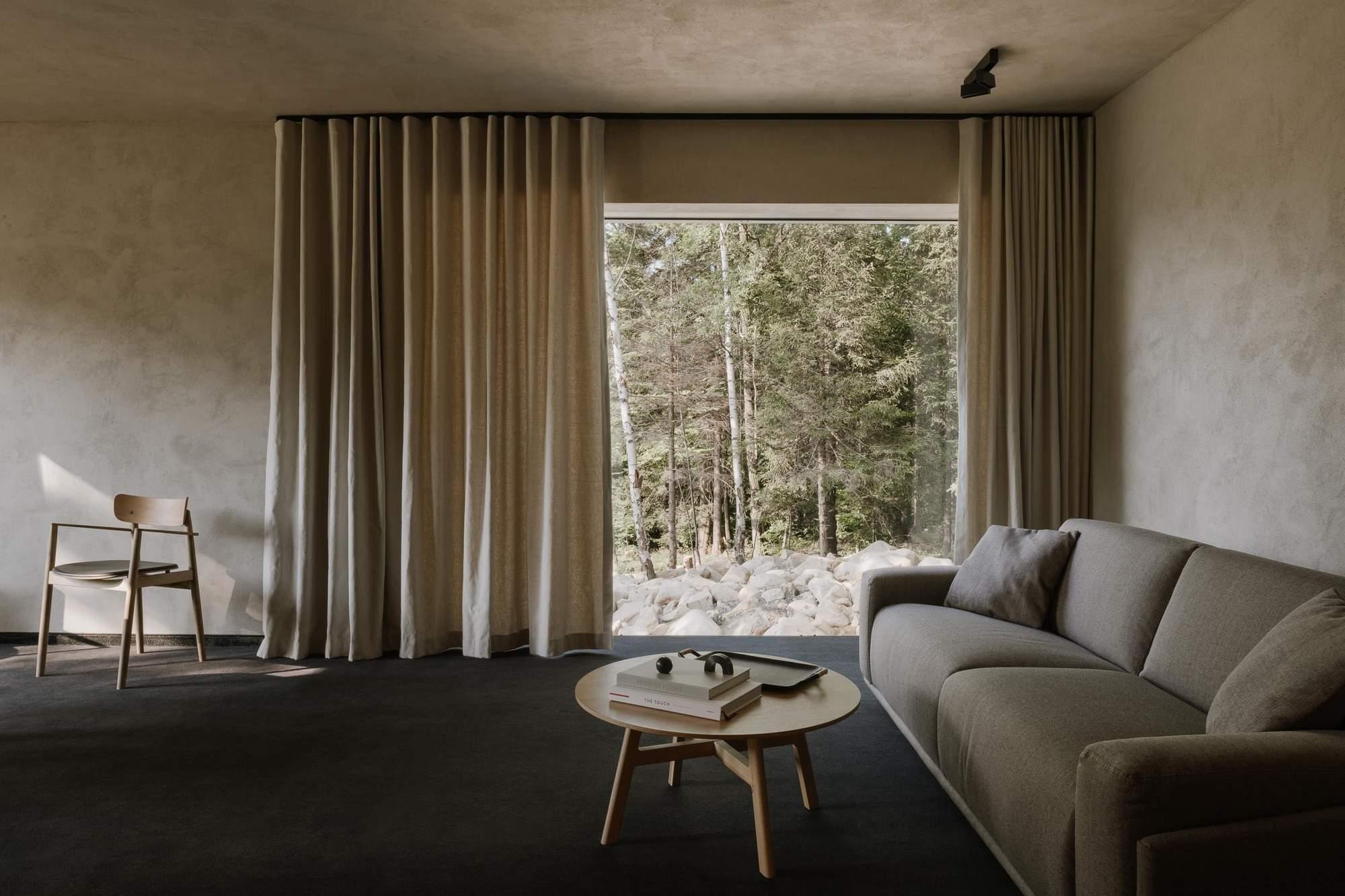 Современное гостевое шале в горнолыжном курорте Польши