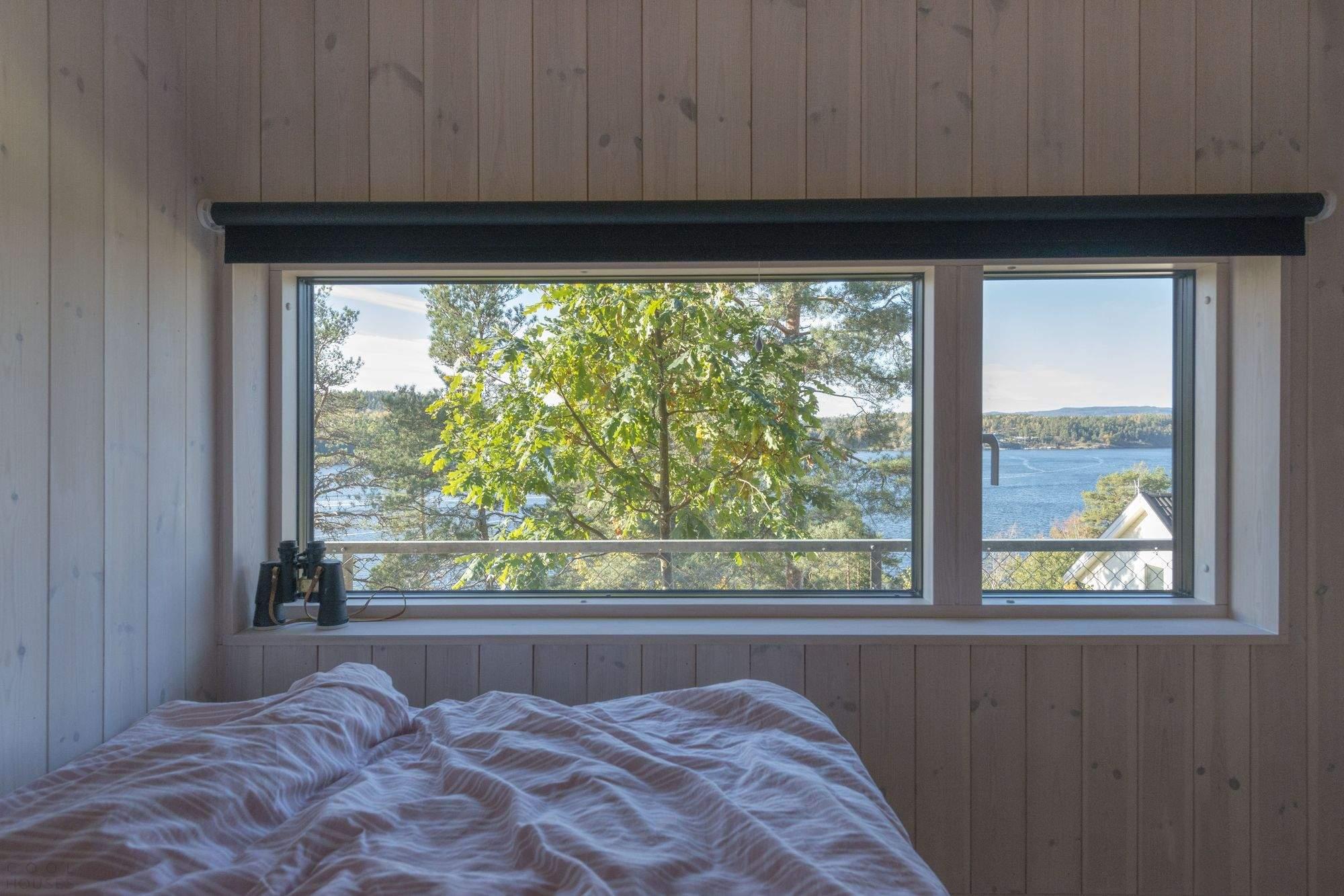 Загородный коттедж на берегу залива, Норвегия