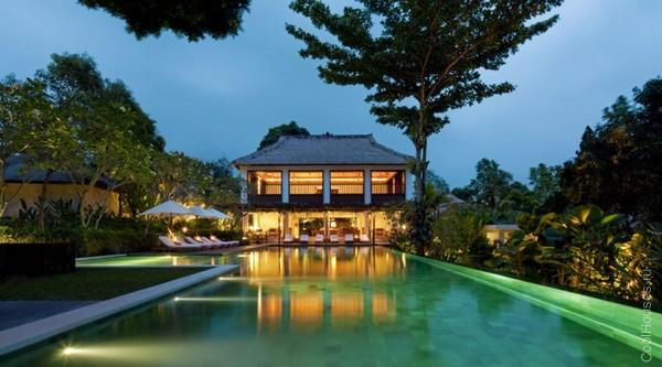 Экзотический дом в Бали