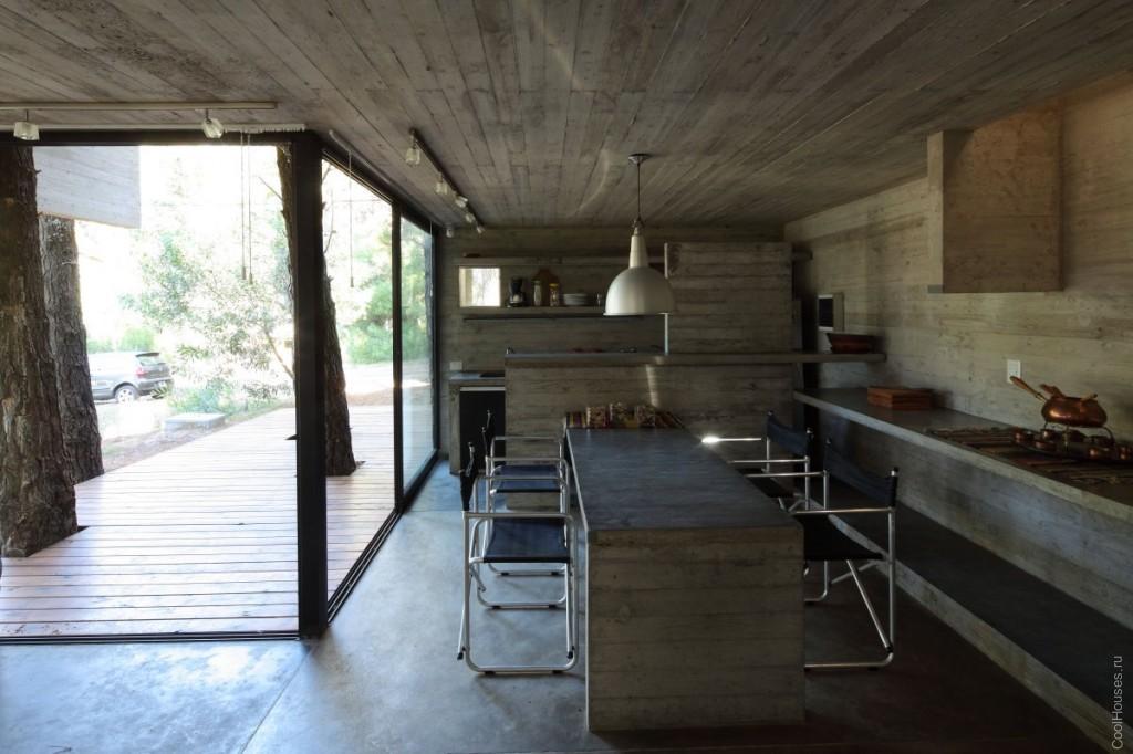 Оригинальный бетонный дом