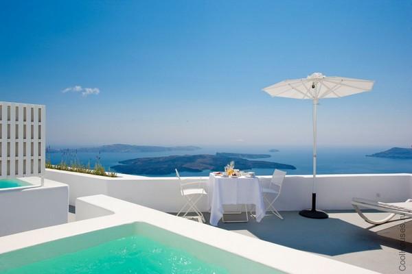 Роскошный отель в Греции