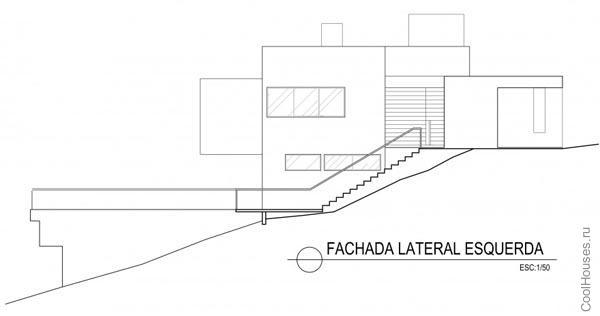 Загородный современный дом в Бразилии