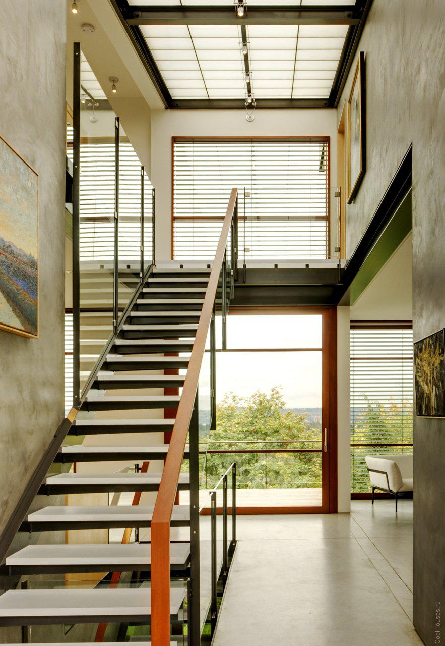 Современный дом в Сиэтле