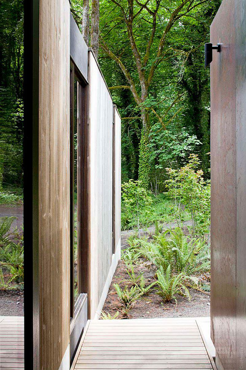 Уютная вилла в лесу