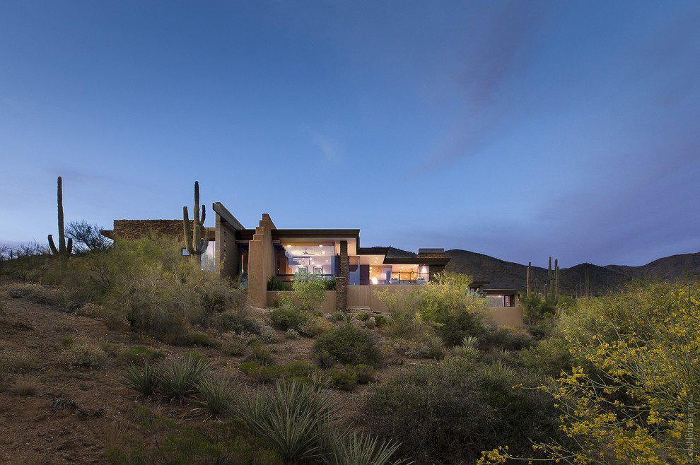 Уютная вилла в пустыне Аризоны